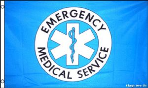 Medical And Emergency Services Flags